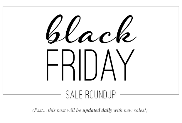 BLACK FRIDAY SALES ROUNDUP